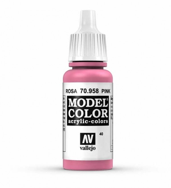Vallejo Model Color 40 Pink