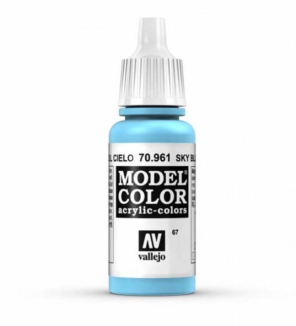 Vallejo Model Color 67 Sky Blue
