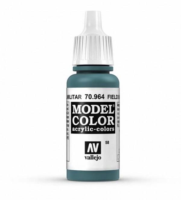 Vallejo Model Color 58 Field Blue