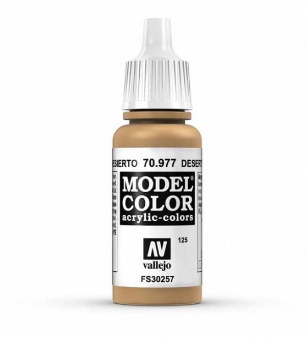 Vallejo Model Color 125 Desert Yellow