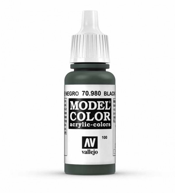 Vallejo Model Color 100 Black Green