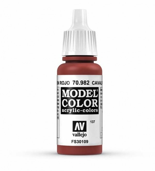 Vallejo Model Color 137 Cavalry Brown