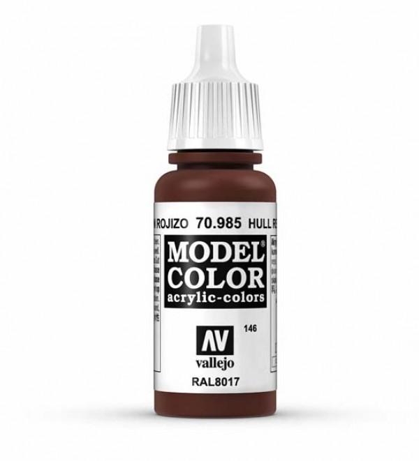 Vallejo Model Color 146 Hull Red
