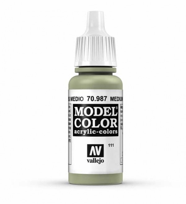Vallejo Model Color 111 Medium Grey