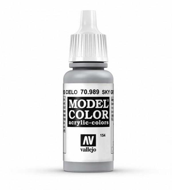 Vallejo Model Color 154 Sky Grey