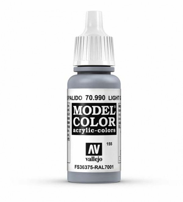 Vallejo Model Color 155 Light Grey