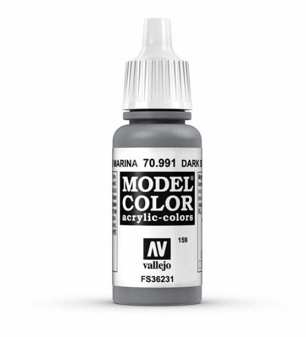 Vallejo Model Color 159 Dark Sea Grey