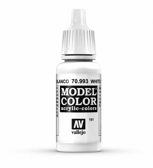 Vallejo Model Color 151 White Grey