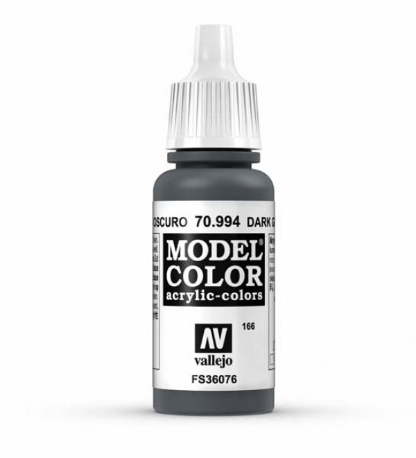 Vallejo Model Color 166 Dark Grey