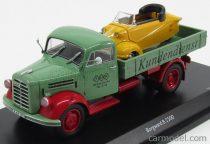 SCHUCO BORGWARD B2500 TRUCK CASSONATO REGENSBURG 1957 + MASSERSCHMITT KR