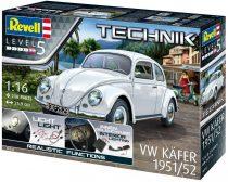 Revell Technik Volkswagen Beetle 1951/52 makett