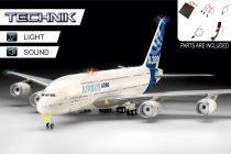 Revell Technik Airbus A380-800 makett (hang+fény)