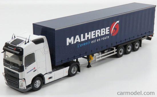 ELIGOR VOLVO FH4 500 GLOBETROTTER TRUCK TELONATO TRANSPORTS MALHERBE 2016