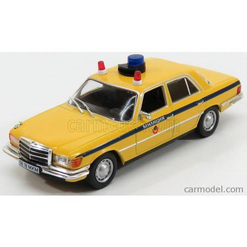 EDICOLA MERCEDES BENZ S-CLASS 450SEL 6.9 (W116) POLICE 1976