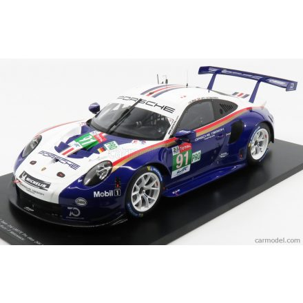 SPARK-MODEL PORSCHE 911 991 RSR PORSCHE GT TEAM N 91 2nd LMGTE PRO 24h LE MANS 2018 R.LIETZ - G.BRUNI - F.MAKOWIECKI