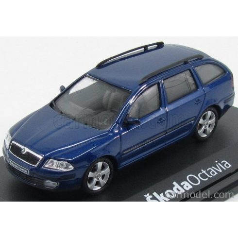 Abrex SKODA OCTAVIA II STATION WAGON 2004 - DEEP SEA BLUE