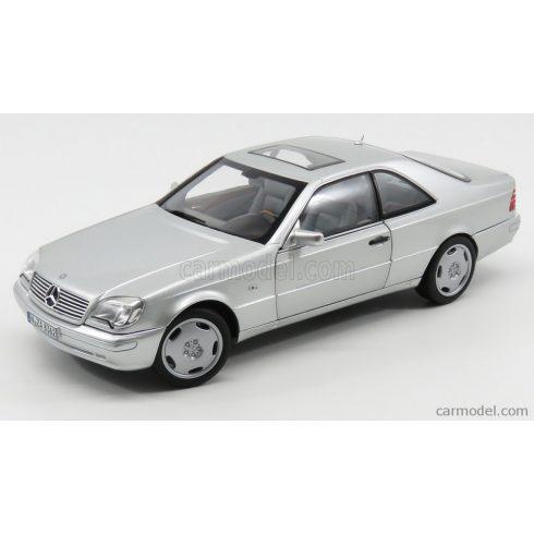 Norev Mercedes S600 Coupe 1998 - Silver metallic