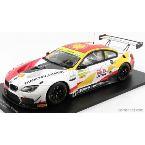 SPARK-MODEL BMW 6-SERIES M6 GT3 BMW TEAM SCHNITZER N 42 WINNER FIA GT WORLD CUP MACAU 2018 AUGUSTO FARFUS