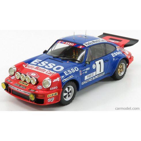 IXO PORSCHE 911 CARRERA RS TEAM ESSO (night version) N 1 RALLY MONTECARLO 1979 J.P.NICOLAS - J.TODT