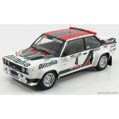IXO FIAT 131 ABARTH ALITALIA N 4 WINNER RALLY PORTUGAL 1978 M.ALEN - L.KIVIMAKI