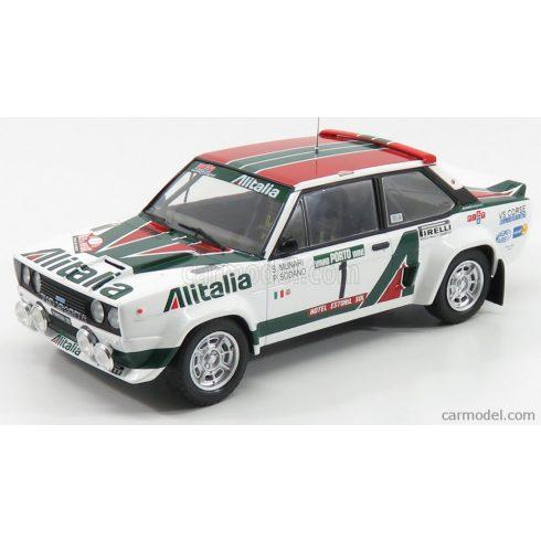 IXO FIAT 131 ABARTH ALITALIA N 1 RALLY PORTUGAL 1978 S.MUNARI - P.SODANO