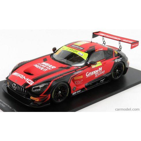 SPARK-MODEL MERCEDES AMG GT3 TEAM MERCEDES AMG GROUP M RACING N 888 2nd FIA GT WORLD CUP MACAU 2018 M.ENGEL