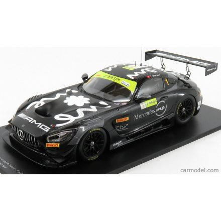 SPARK-MODEL MERCEDES AMG GT3 TEAM MERCEDES AMG GROUP M RACING N 1 3rd FIA GT WORLD CUP MACAU 2018 E.MORTARA