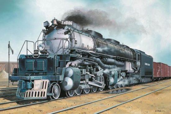 Revell Big Boy Locomotive makett