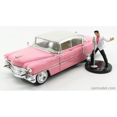 JADA CADILLAC FLEETWOOD SERIES 60 WITH FIGURE 1955 - PERSONAL CAR ELVIS PRESLEY
