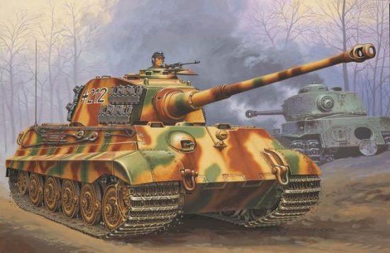 Revell Tiger II Ausf. B makett