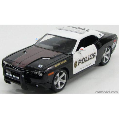 Maisto DODGE CHALLENGER HEMI 6.1 COUPE CONCEPT POLICE TRAFIC DIVISION 2006