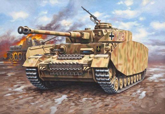 Revell PzKpfw.IV Ausf.H makett