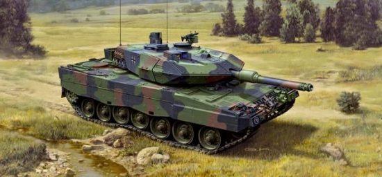 Revell Leopard 2A5 / A5NL makett