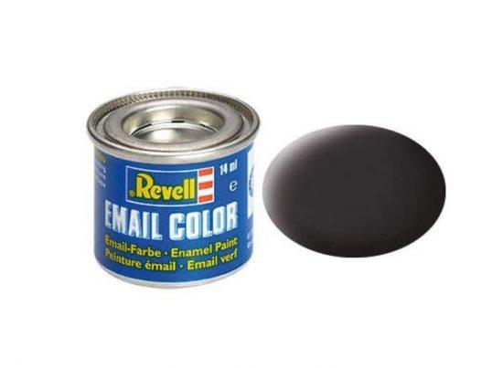 Revell Enamel Color 6 Matt Tar Black