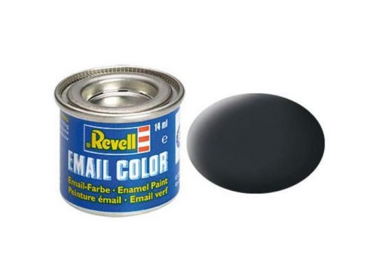Revell Enamel Color 9 Matt Anthracite Grey