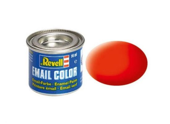 Revell Enamel Color 25 Matt Luminous Orange