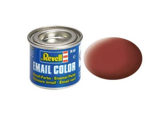 Revell Enamel Color 37 Matt Reddish Brown