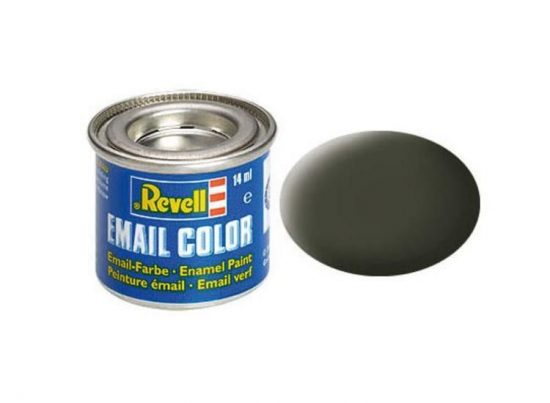 Revell Enamel Color 42 Matt Yellowish Olive