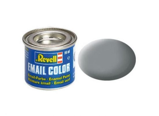 Revell Enamel Color 43 Matt Medium Grey
