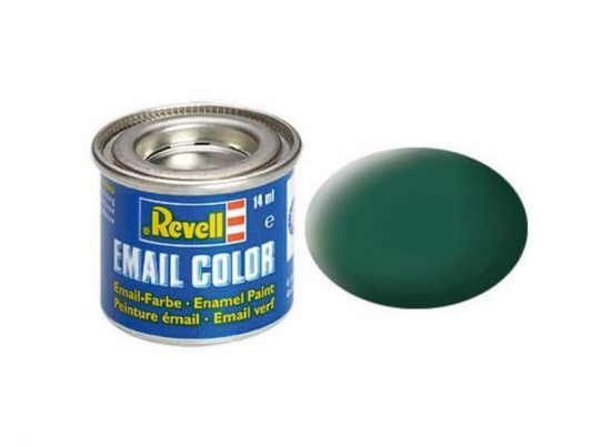 Revell Enamel Color 48 Matt Sea Green