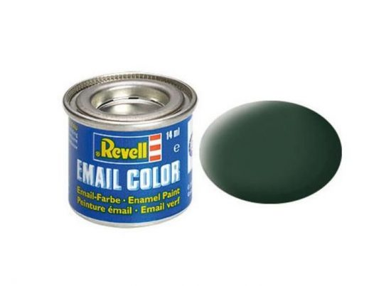 Revell Enamel Color 68 Matt Dark Green