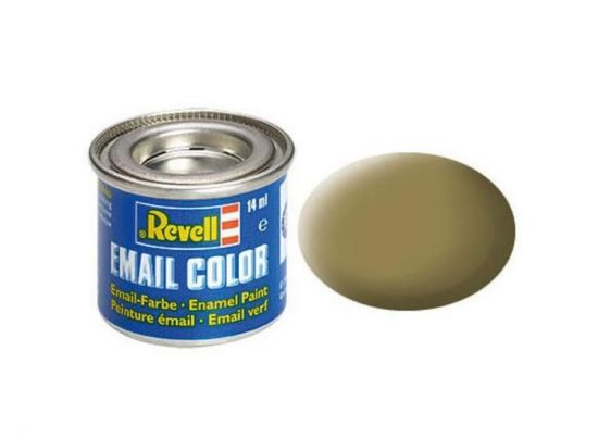 Revell Enamel Color 86 Matt Olive Brown