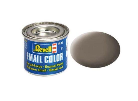 Revell Enamel Color 87 Matt Earth Brown