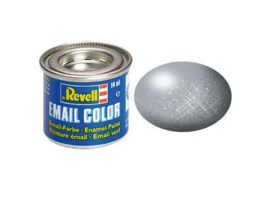 Revell Enamel Color 91 Metallic Steel