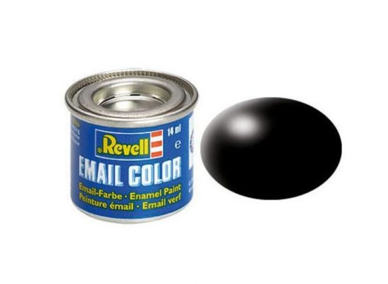 Revell Enamel Color 302 Satin Black