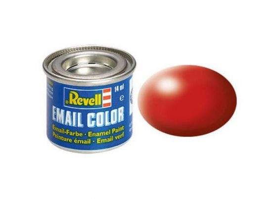 Revell Enamel Color 330 Satin Fiery Red