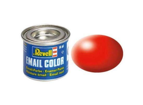 Revell Enamel Color 332 Satin Luminous Red