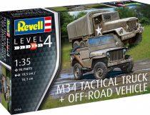 Revell M34 Tactical Truck + Off-Road Vehicle makett