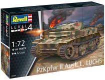 Revell Pz.Kpfw.II Ausf.L Luchs makett