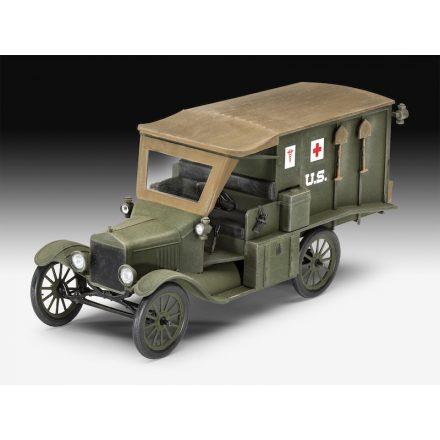 Revell Model T 1917 Ambulance makett